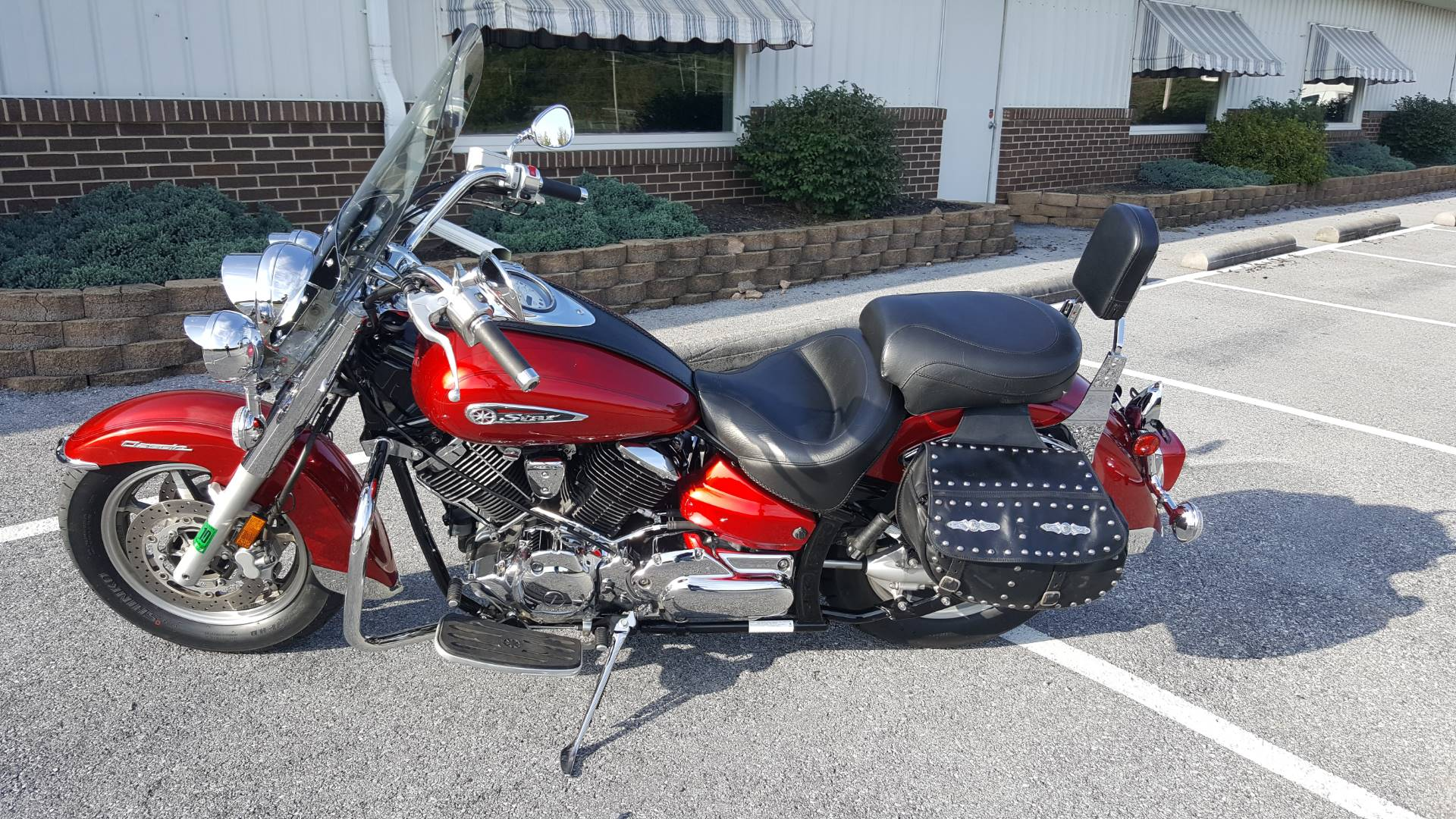 2009 Yamaha V Star 1100 Classic in Jonestown, Pennsylvania
