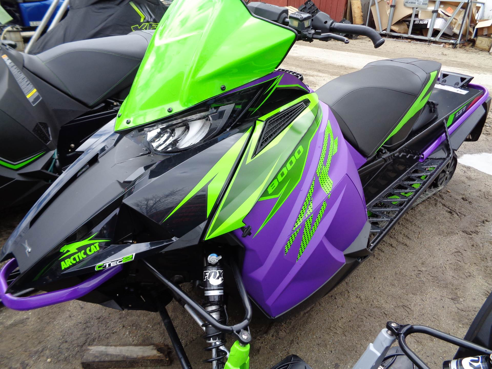 2019 Arctic Cat ZR 8000 Limited ES 137 in Hillsborough, New Hampshire - Photo 1