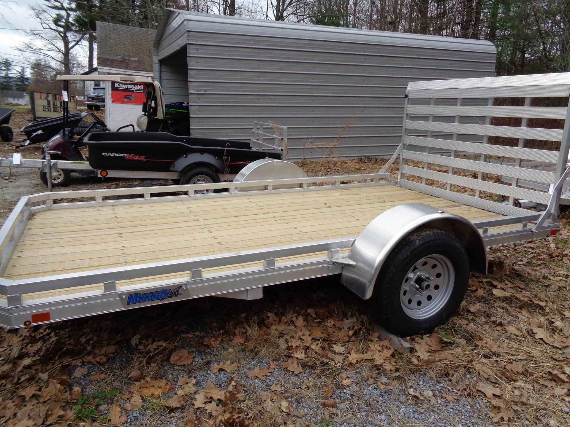 2018 Alcom Trailer MU 6.5X12 FA 2.0 in Hillsborough, New Hampshire - Photo 2