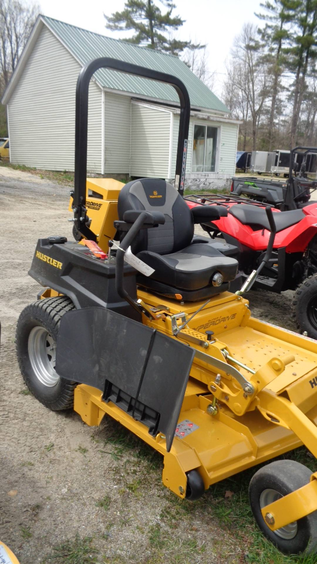 2020 Hustler Turf Equipment Super Z HyperDrive 60 in. Vanguard Big Block EFI 37 hp in Hillsborough, New Hampshire - Photo 1