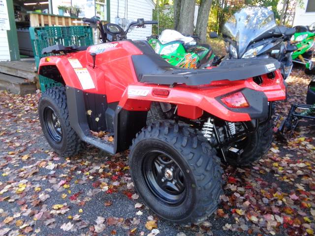 2018 Arctic Cat Alterra 500 red in Hillsborough, New Hampshire