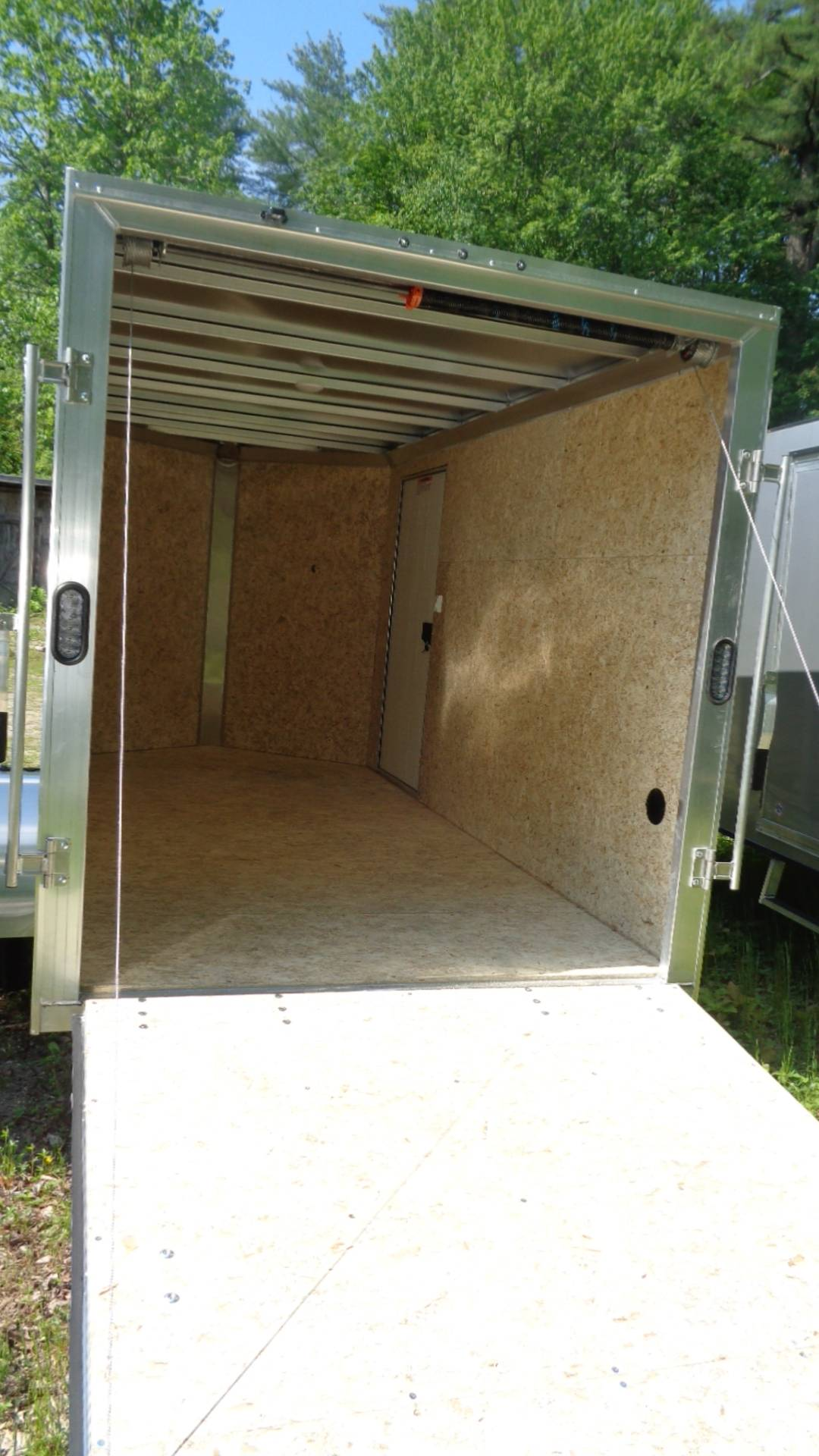2020 Alcom Trailer EZEC 6X12-IF SA in Hillsborough, New Hampshire - Photo 4