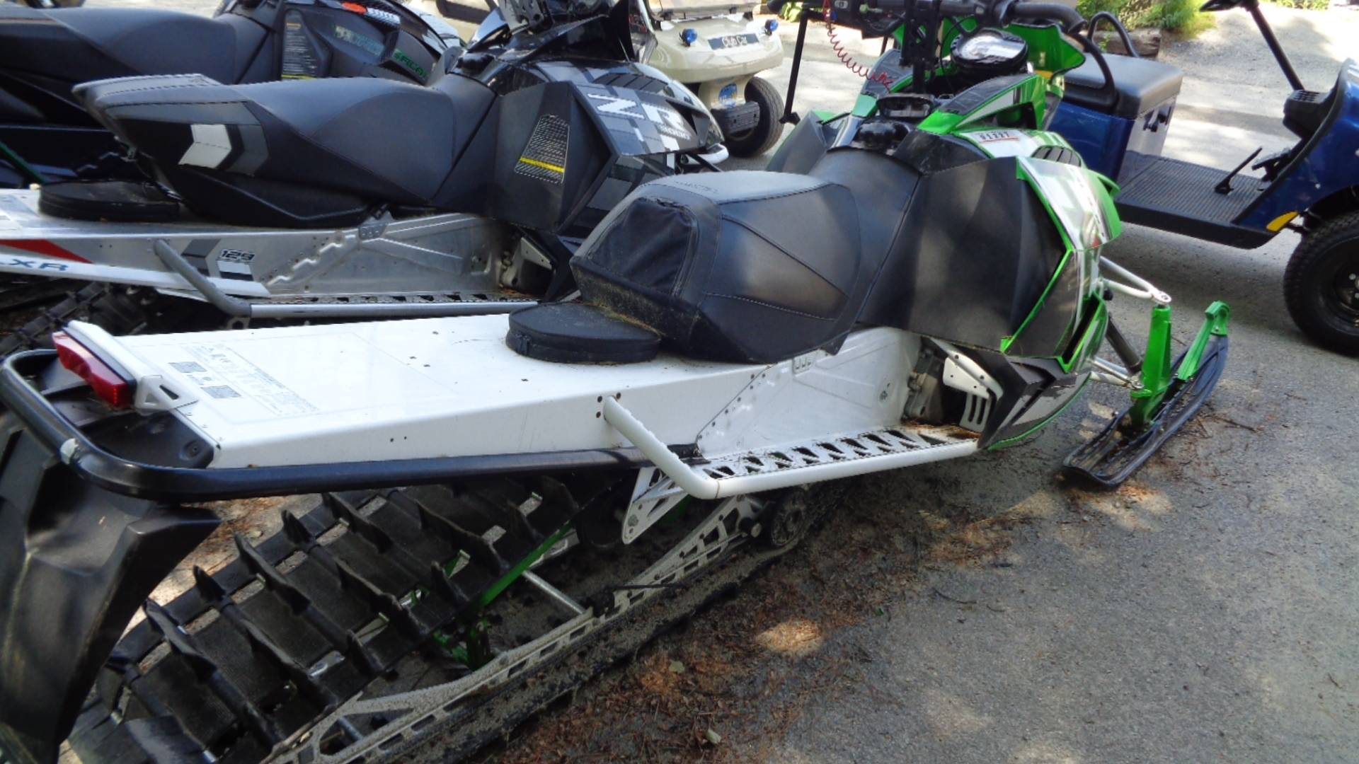 "2015 Arctic Cat M 8000 153"" HCR in Hillsborough, New Hampshire - Photo 3"