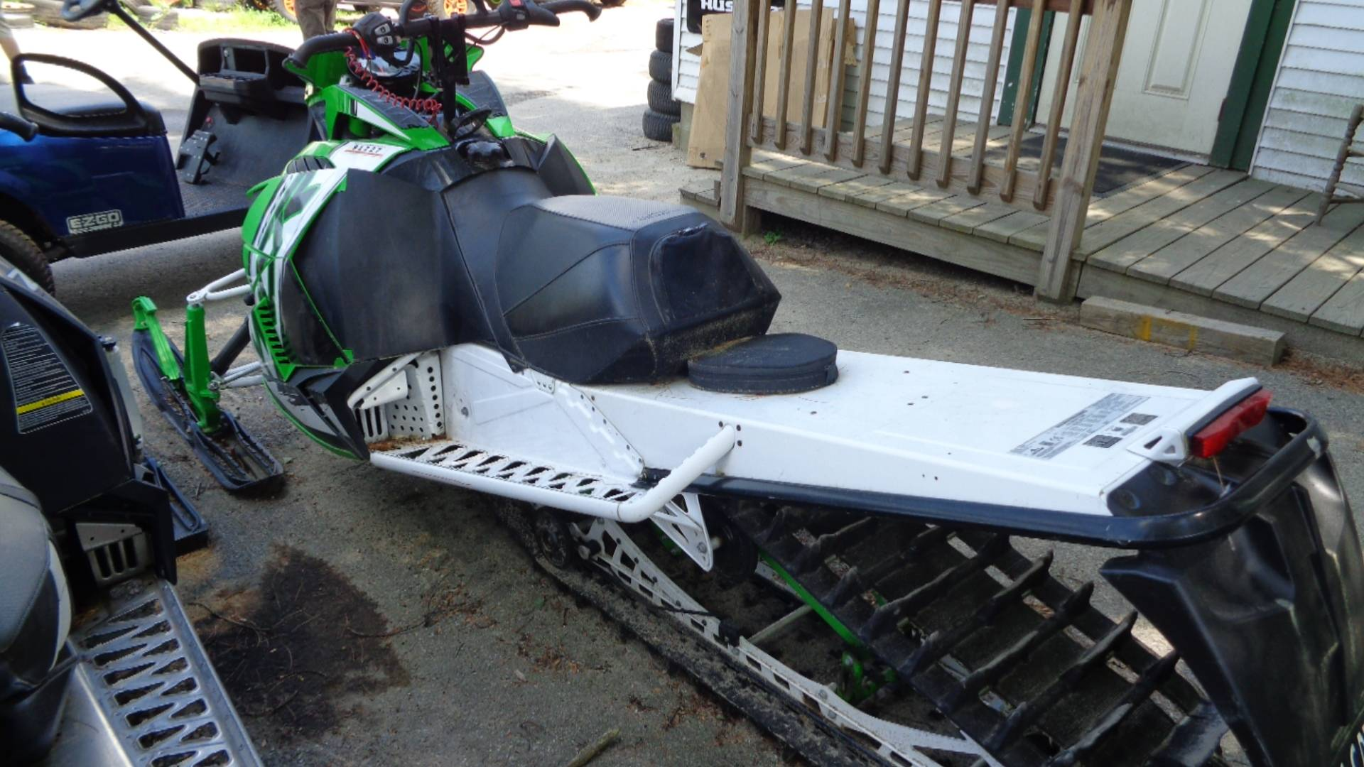 "2015 Arctic Cat M 8000 153"" HCR in Hillsborough, New Hampshire - Photo 4"