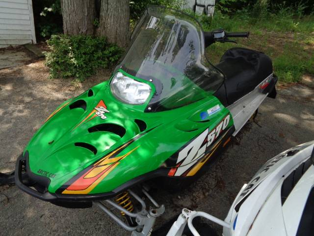 2005 Arctic Cat Z 570 LX in Hillsborough, New Hampshire - Photo 2