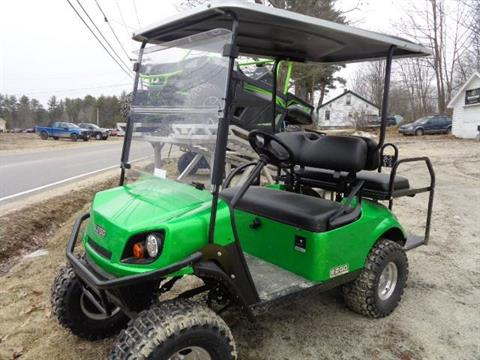2018 E-Z-Go EXPRESS S4 GAS in Hillsborough, New Hampshire