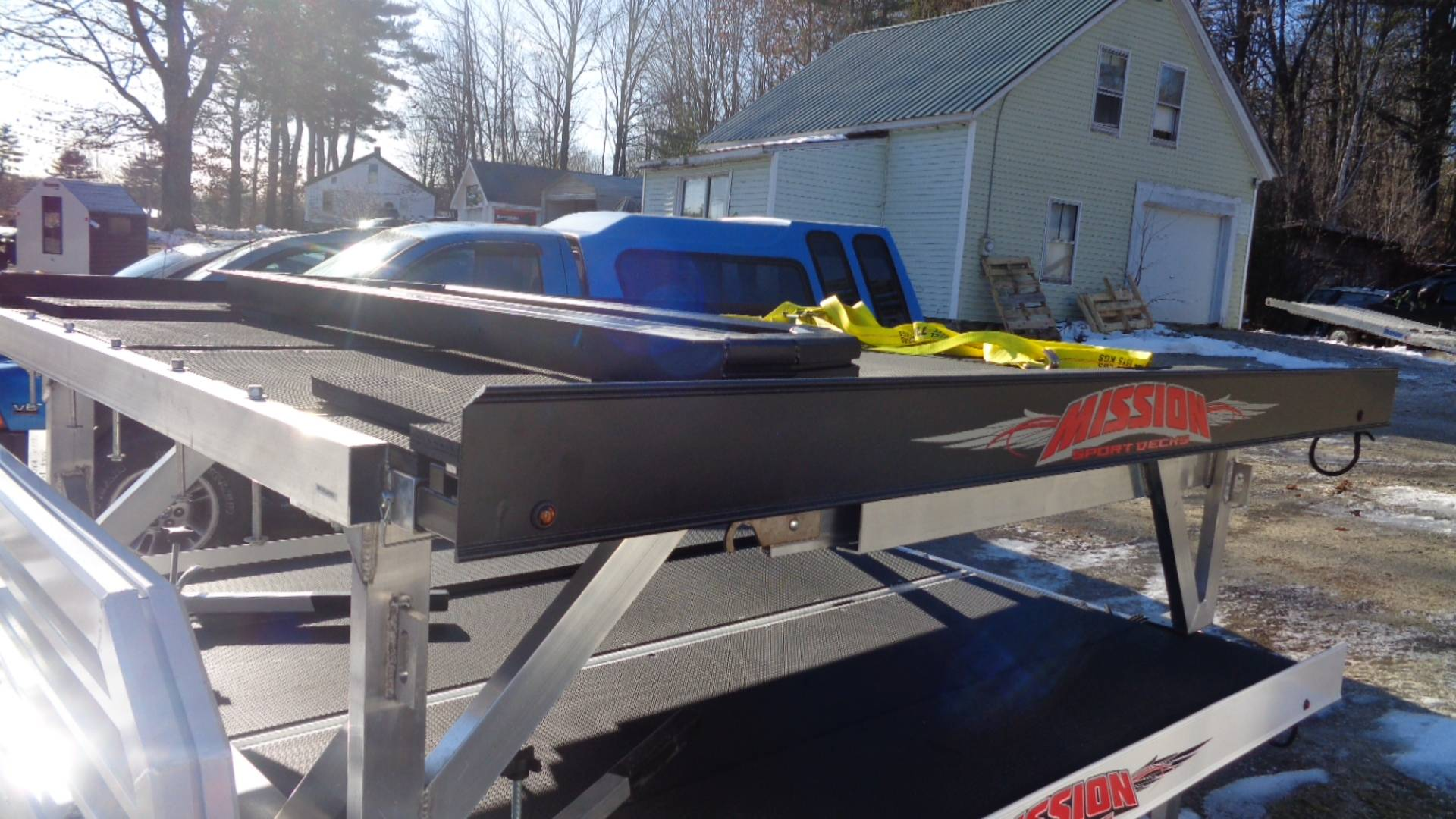 2020 Alcom Trailer MSD Mission Sport Deck in Hillsborough, New Hampshire - Photo 1