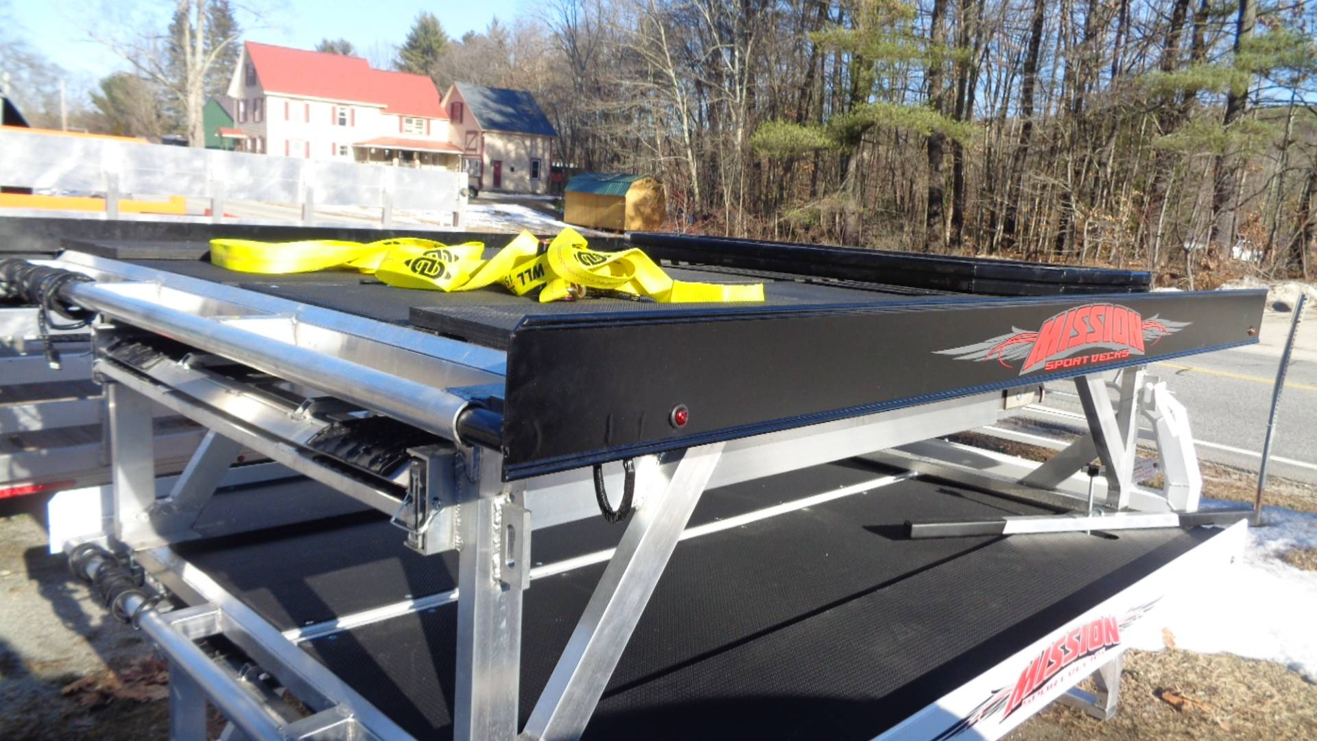 2020 Alcom Trailer MSD Mission Sport Deck in Hillsborough, New Hampshire - Photo 3