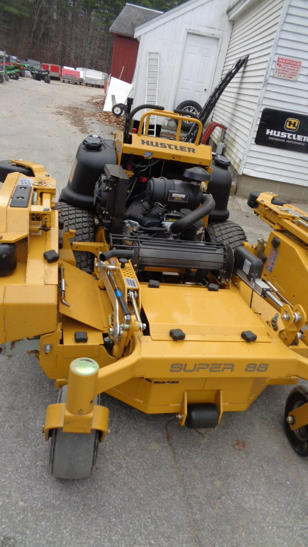 2020 Hustler Turf Equipment Super 88 in. Vanguard Big Block RD 36 hp in Hillsborough, New Hampshire - Photo 2