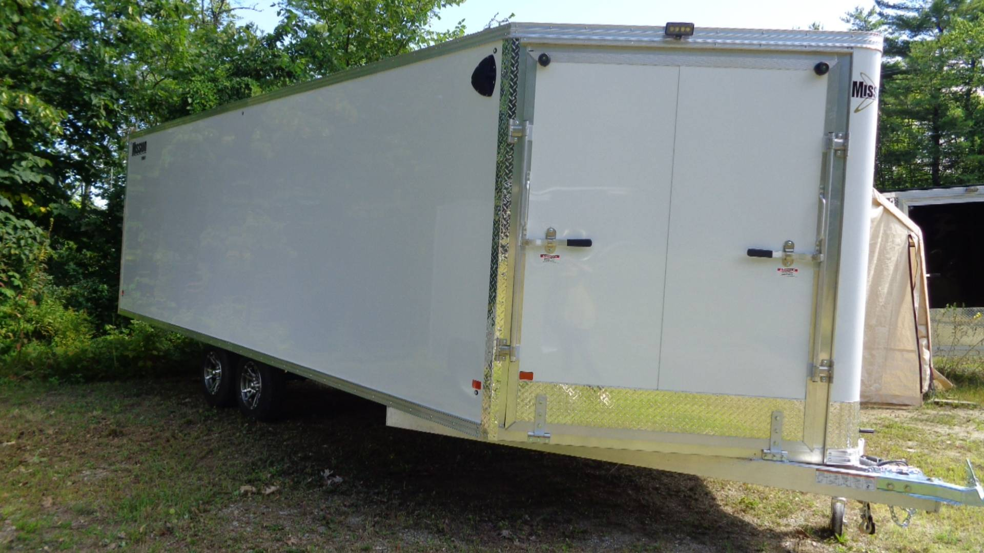 2020 Alcom Trailer MES 101X22 DL in Hillsborough, New Hampshire - Photo 1
