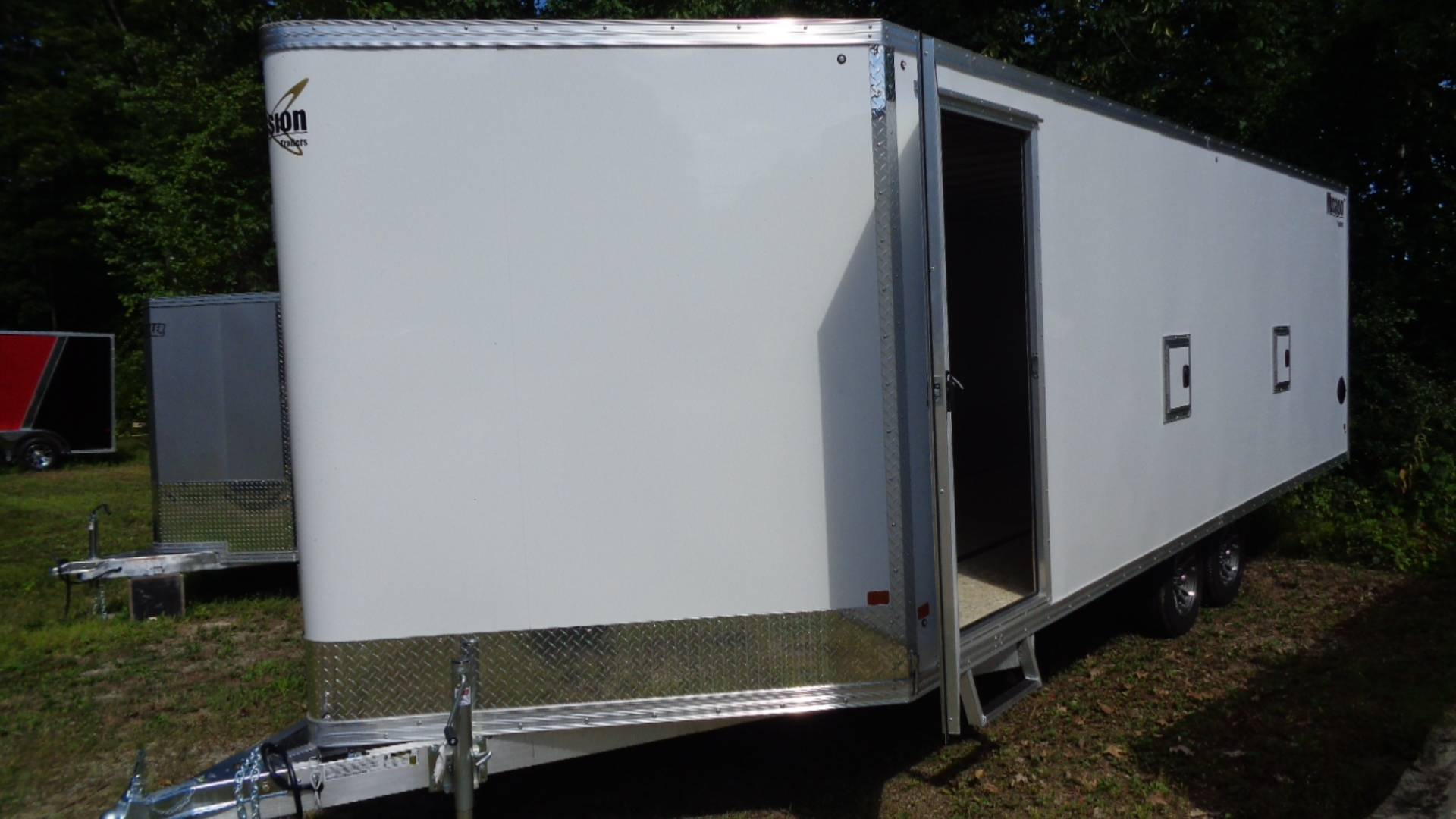2020 Alcom Trailer MES 101X22 DL in Hillsborough, New Hampshire - Photo 2