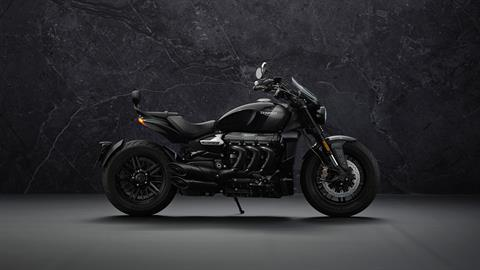 2022 Triumph Rocket 3 GT Triple Black in Indianapolis, Indiana - Photo 2