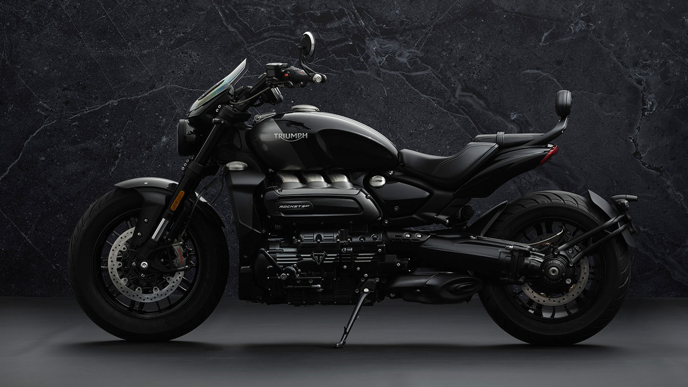 2022 Triumph Rocket 3 GT Triple Black in Indianapolis, Indiana - Photo 3