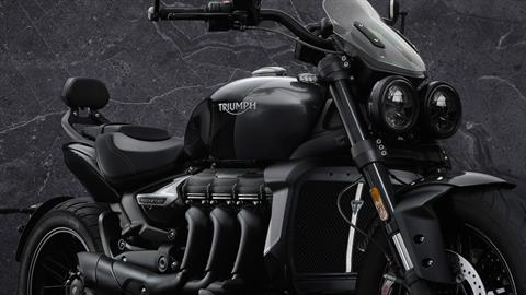 2022 Triumph Rocket 3 GT Triple Black in Indianapolis, Indiana - Photo 5