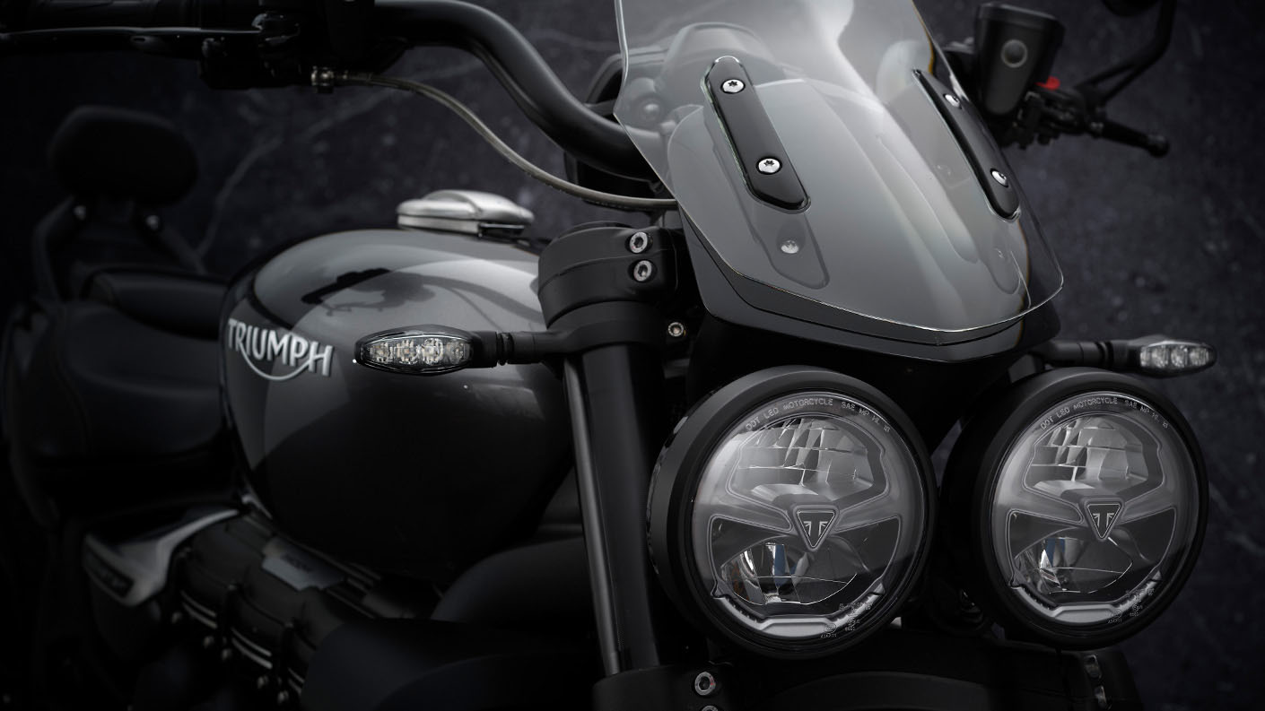 2022 Triumph Rocket 3 GT Triple Black in Indianapolis, Indiana - Photo 8