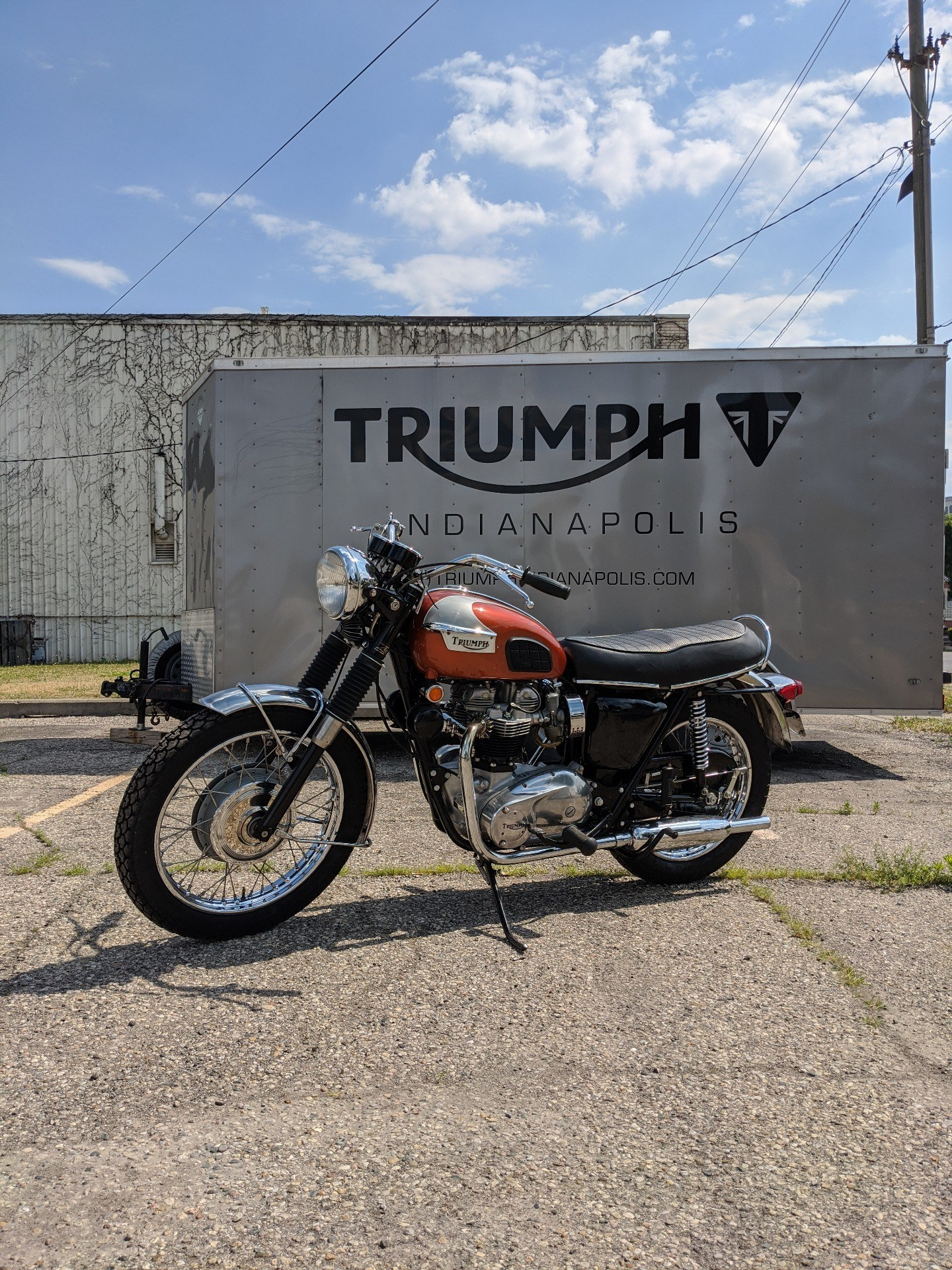 1970 Triumph Bonneville in Indianapolis, Indiana - Photo 1