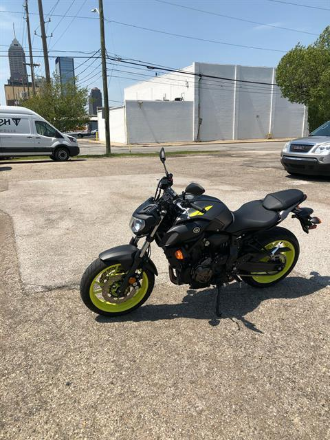 2018 Yamaha MT-07 in Indianapolis, Indiana - Photo 1