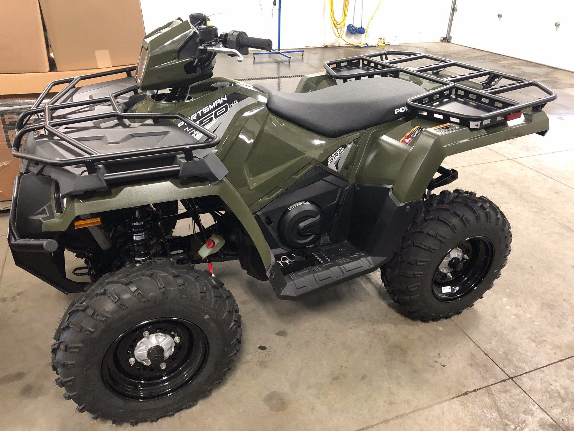 2020 Polaris Sportsman 450 H.O. Utility Package in Altoona, Wisconsin - Photo 1