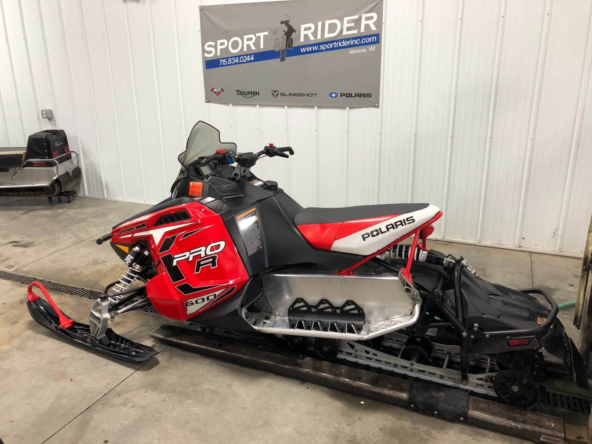 2012 Polaris 600 Switchback® PRO-R ES in Altoona, Wisconsin