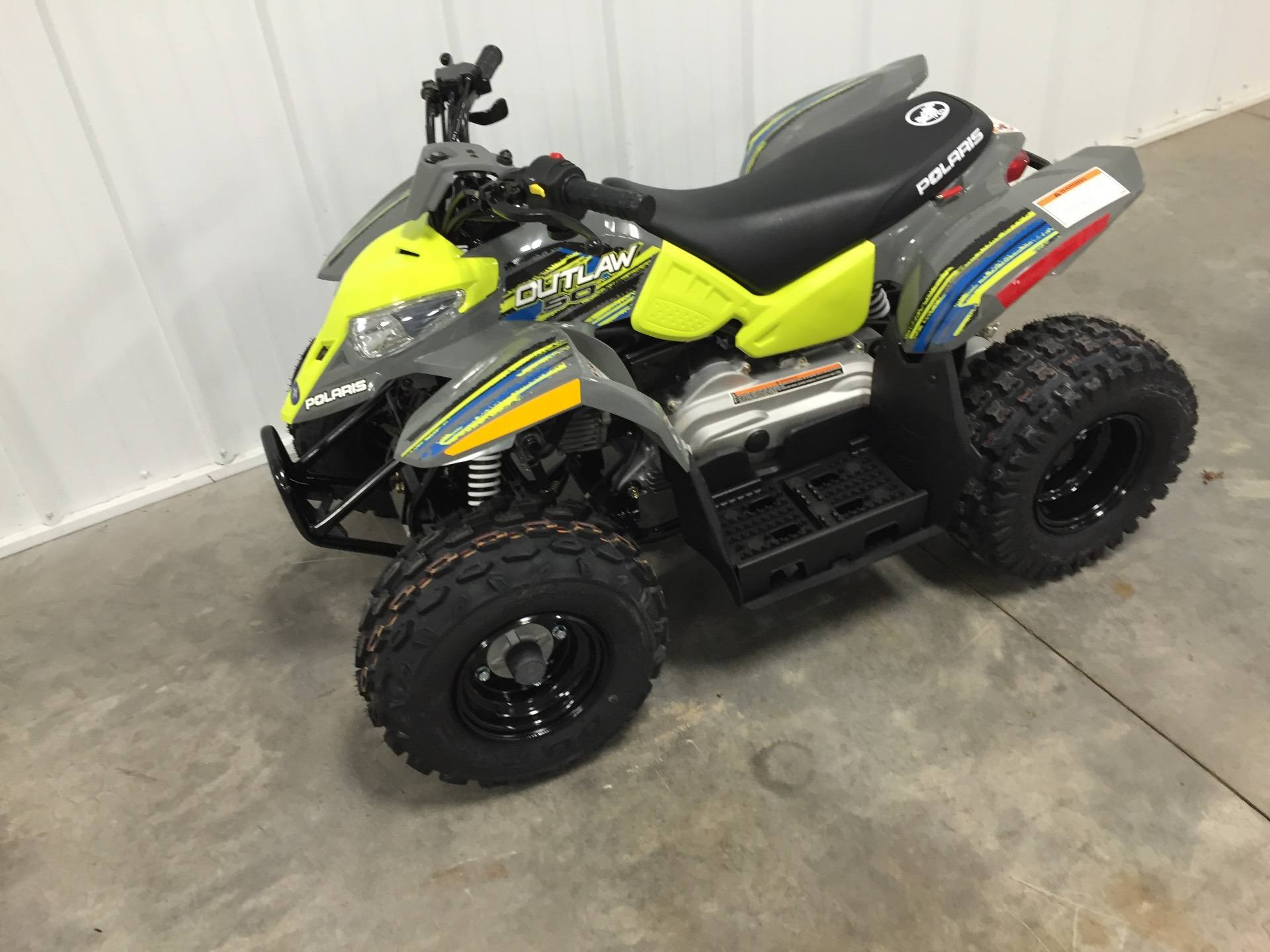 2019 Polaris Outlaw 50 in Altoona, Wisconsin - Photo 2