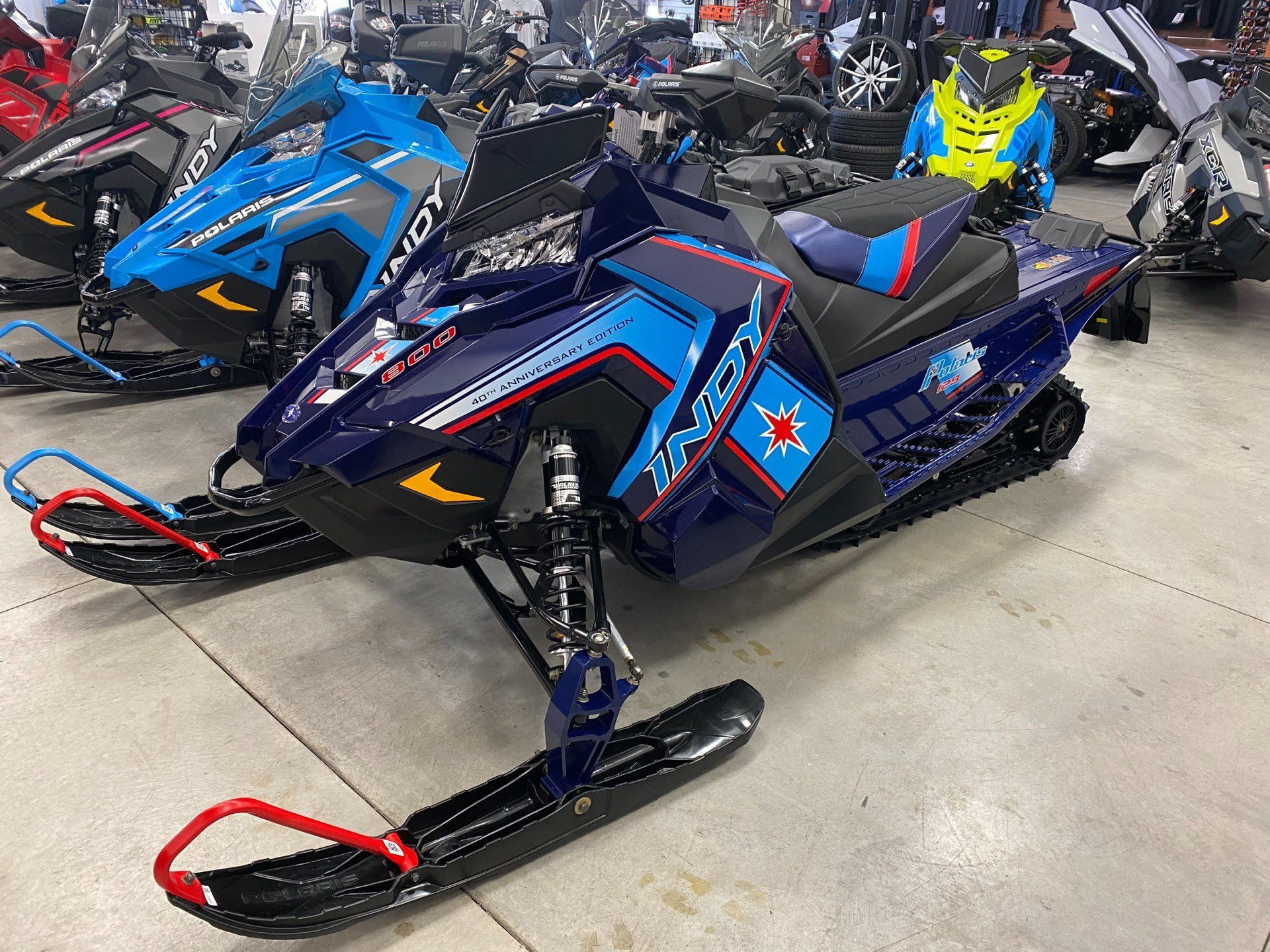 2020 Polaris 800 Indy XC 129 SC in Altoona, Wisconsin - Photo 1