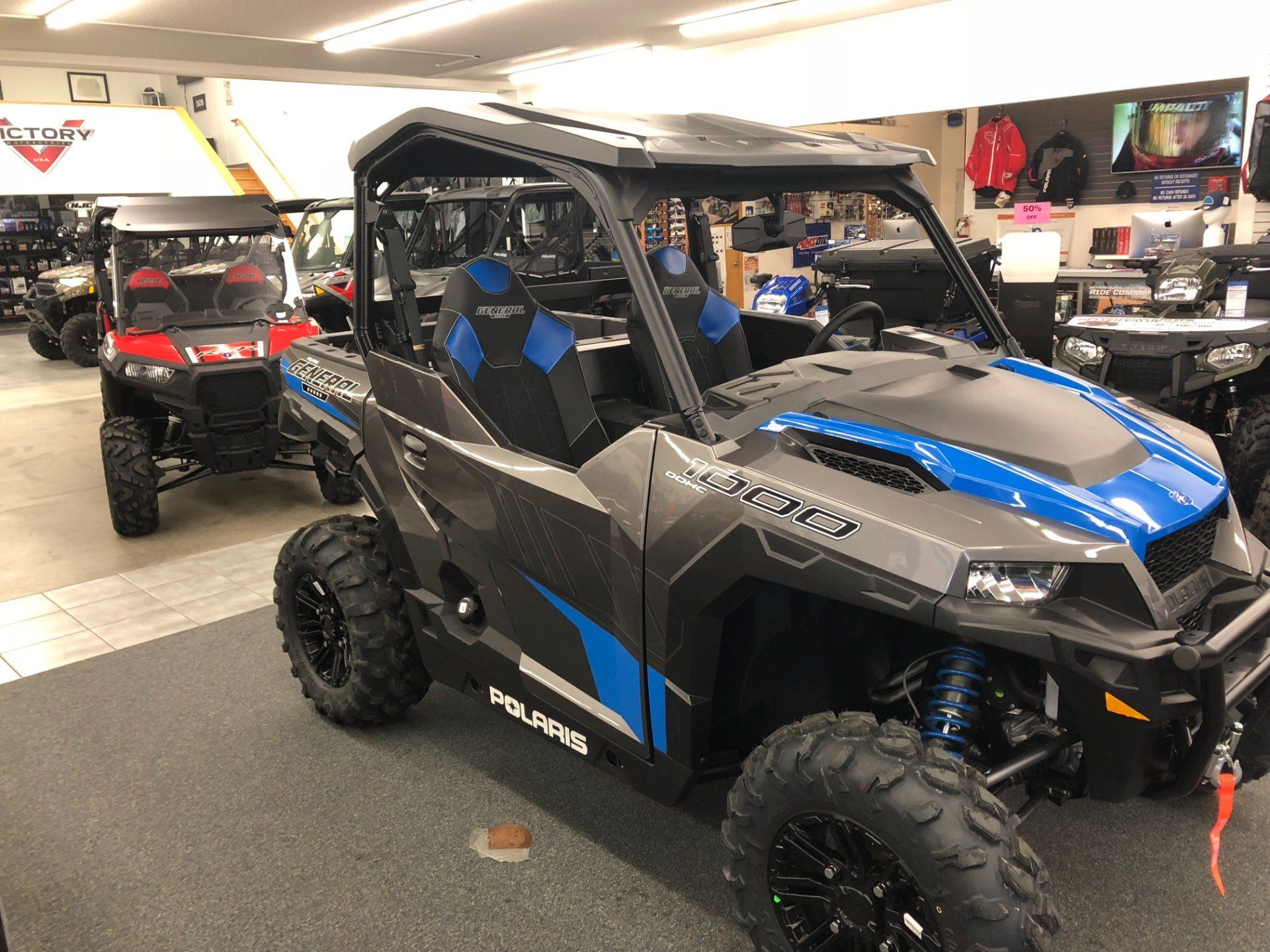 2019 Polaris General 1000 EPS Deluxe in Altoona, Wisconsin