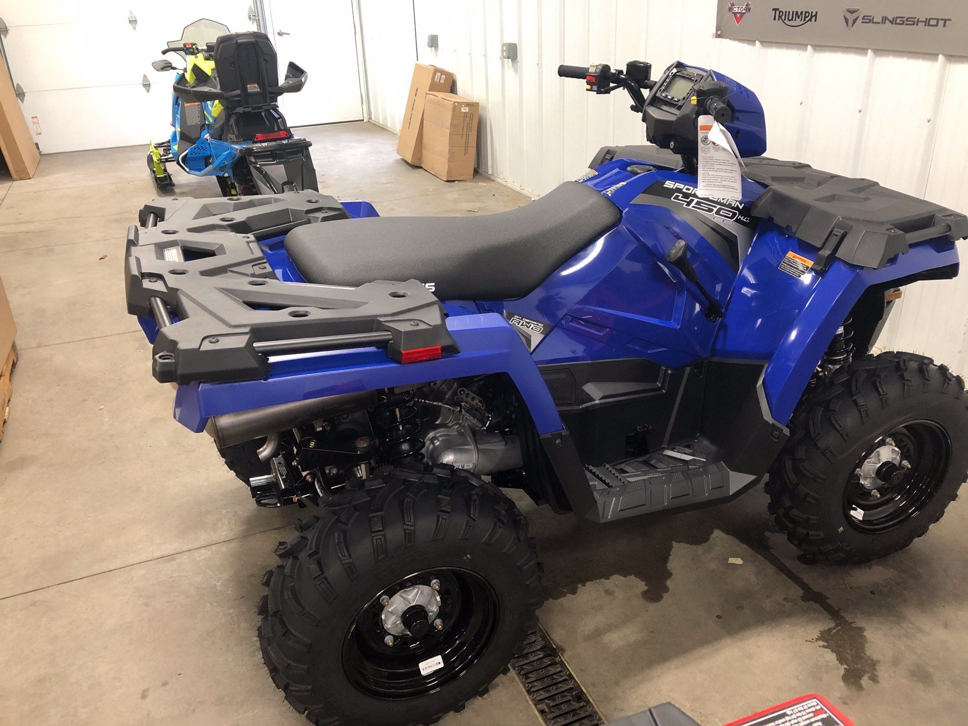 2020 Polaris Sportsman 450 H.O. in Altoona, Wisconsin - Photo 1