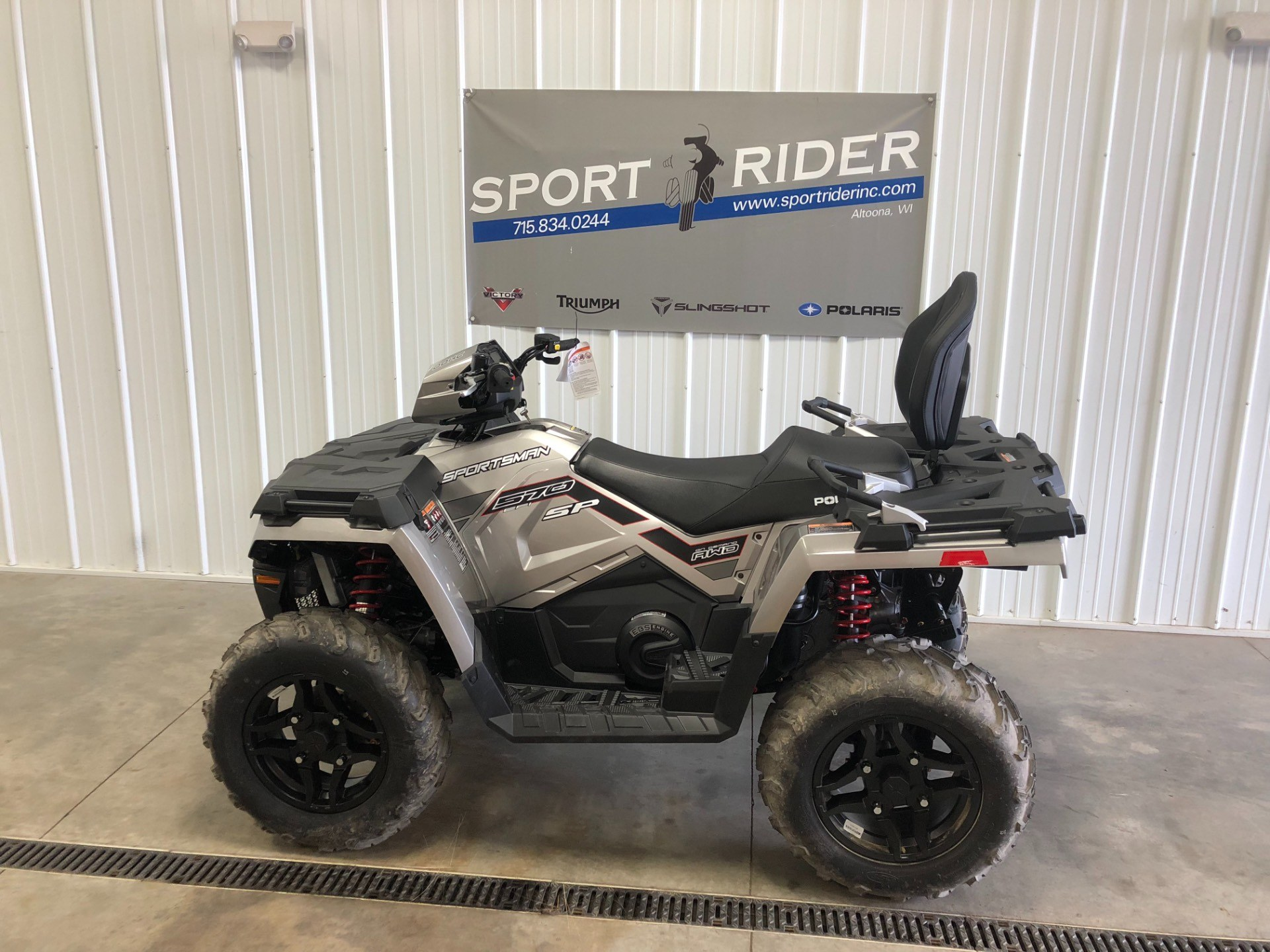2018 Polaris Sportsman Touring 570 SP in Altoona, Wisconsin