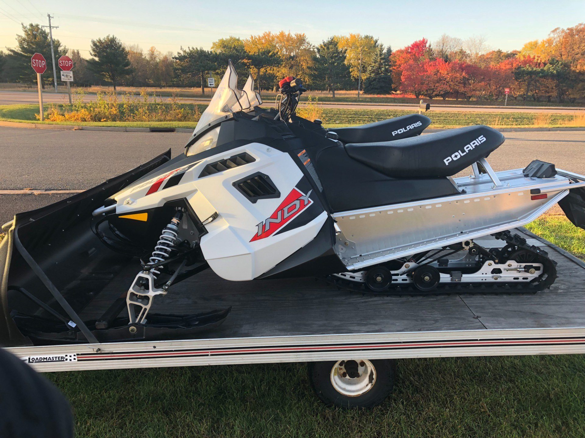 2017 Polaris 550 Indy Es In Altoona Wisconsin