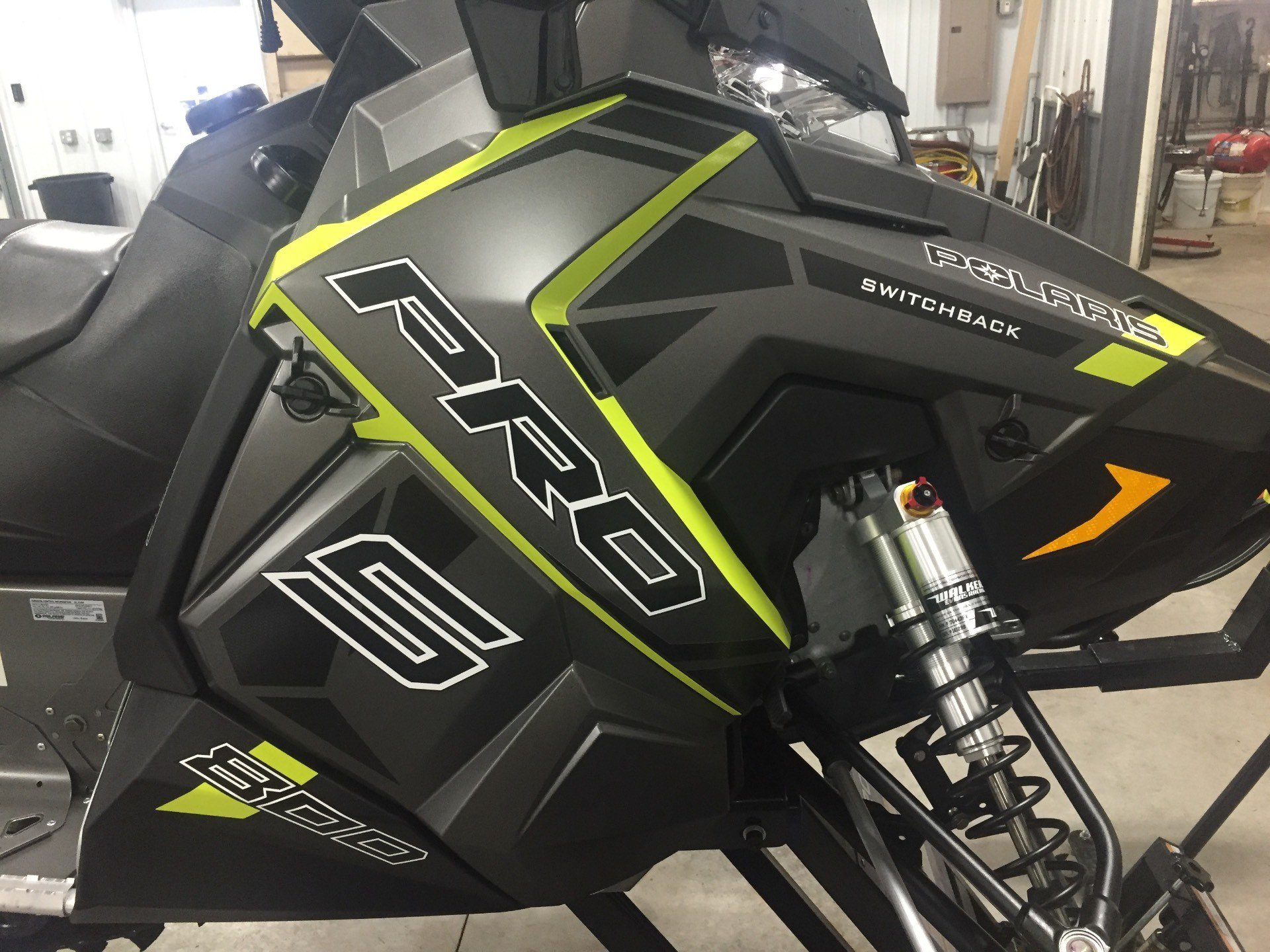 2017 Polaris 800 Switchback PRO-S LE in Altoona, Wisconsin