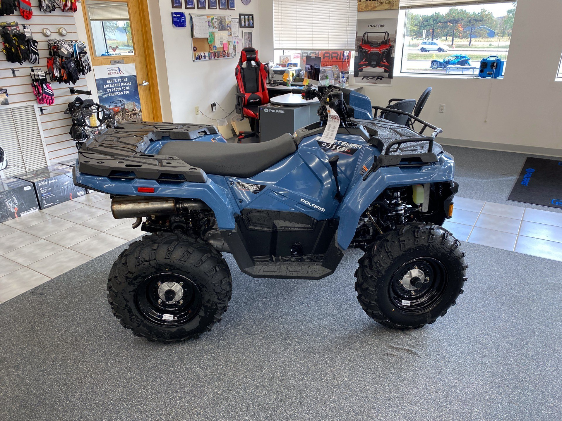 2021 Polaris Sportsman 450 H.O. EPS in Altoona, Wisconsin - Photo 1