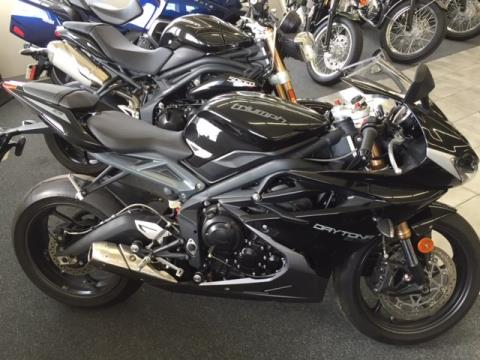 2013 Triumph Daytona 675 in Altoona, Wisconsin