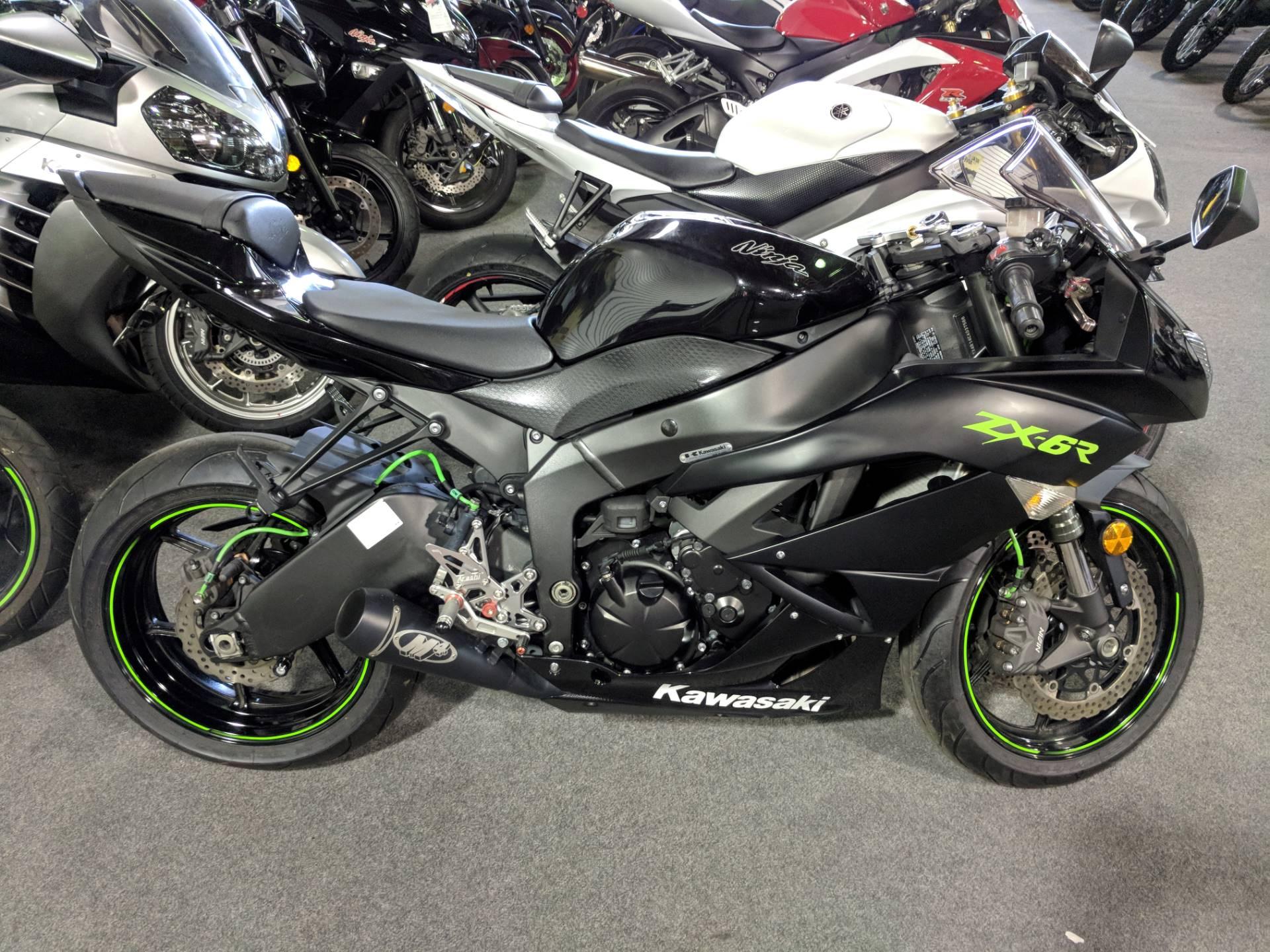 2012 Kawasaki Ninja ZX-6R 1