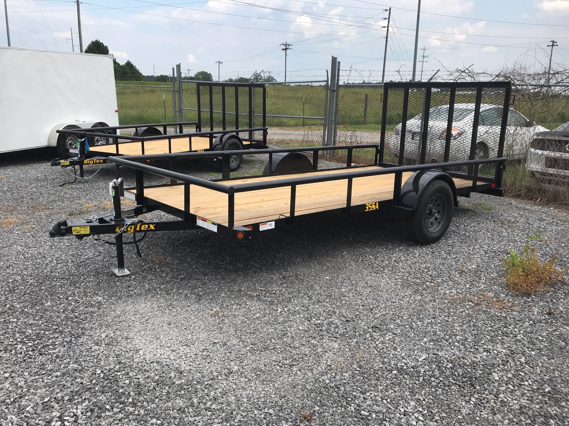 "2019 Big Tex Trailers 77""x14' 35SA in Leesburg, Alabama"
