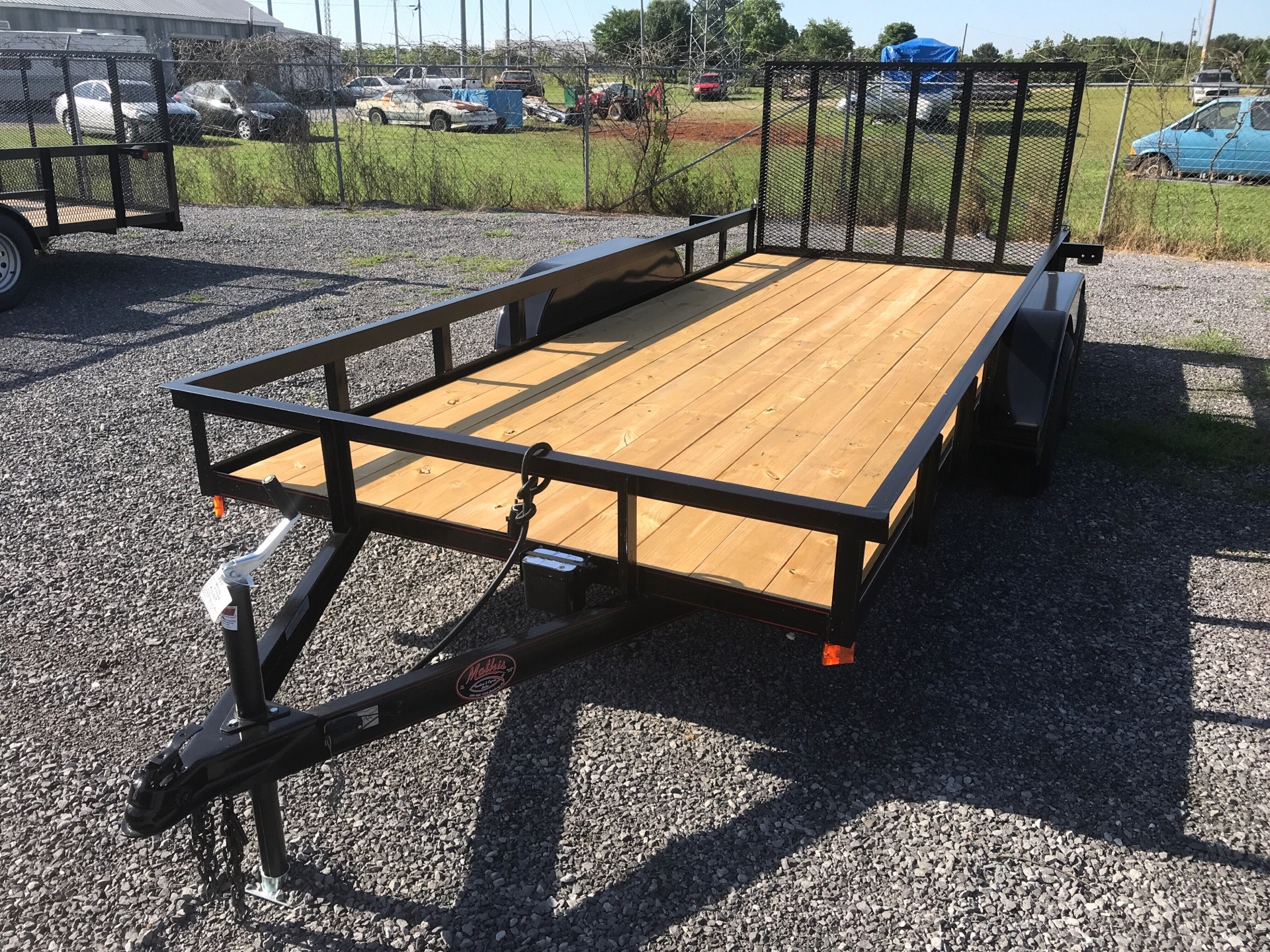 "2019 P&T Trailer 77""x16' Utility w/ Gate in Leesburg, Alabama"