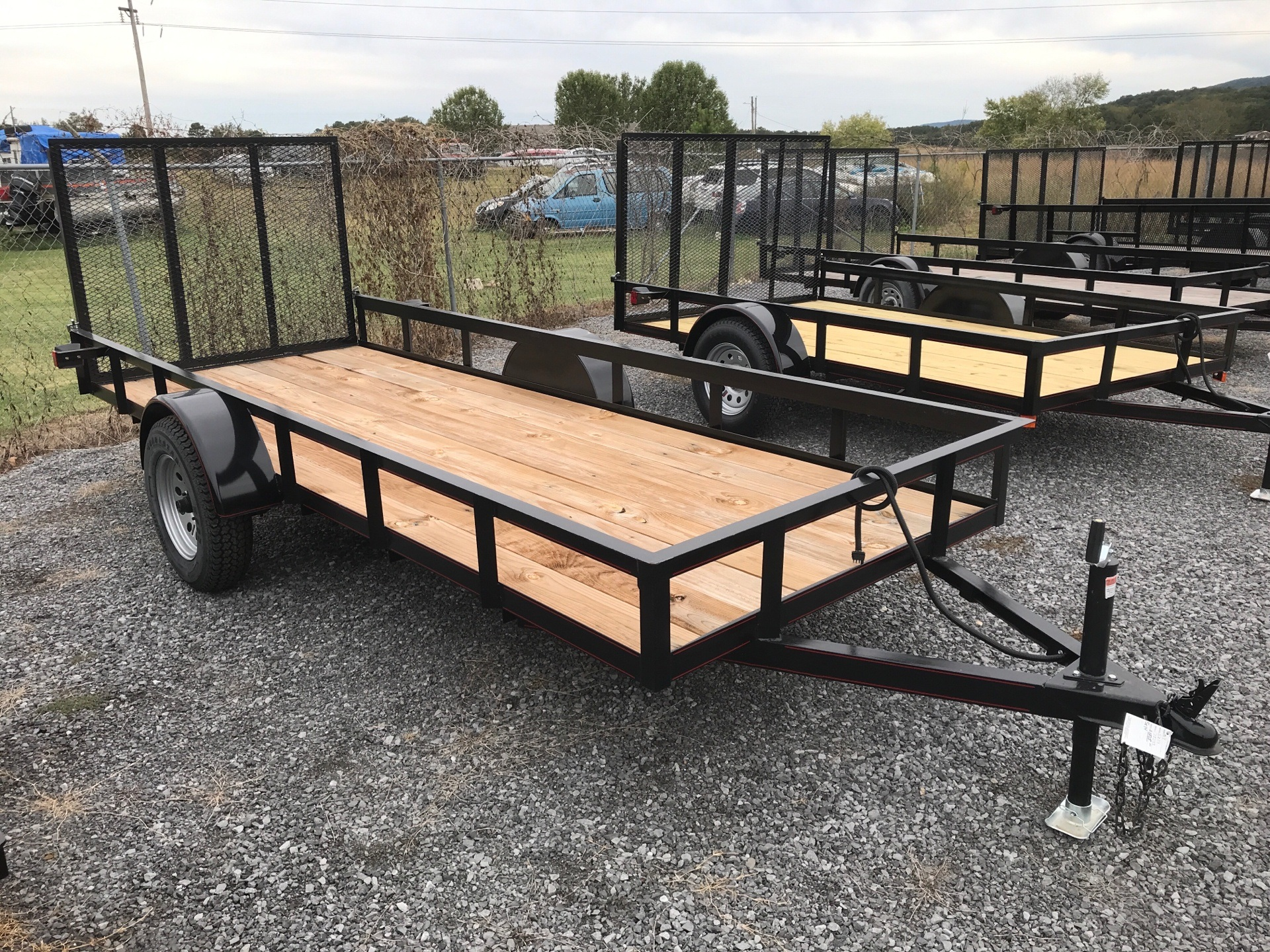 2019 P&T Trailer 5x14 w/ Gate in Leesburg, Alabama