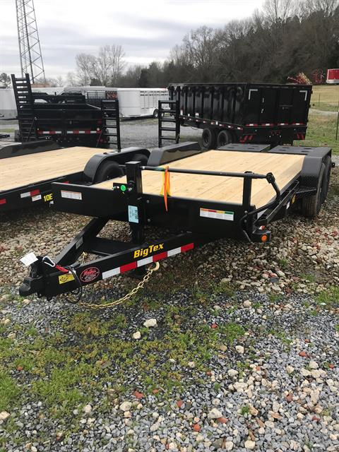 2019 Big Tex Trailers 14ET-18BK-MR 83X18 MEGA RAMPS in Rome, Georgia