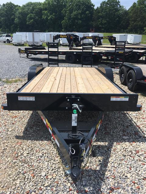 2019 Big Tex Trailers 10ET-18BK-KR 83X18  TRAILER W/KNEE RAMPS in Rome, Georgia