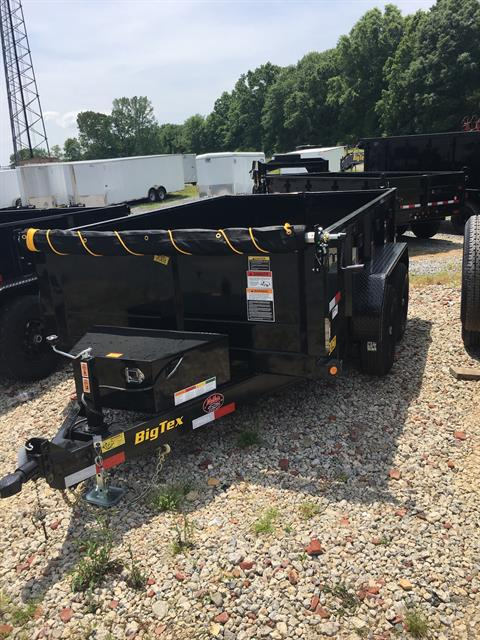 2019 Big Tex Trailers 90SR-10BK7SIR 6'X10' DUMP TRAILER in Rome, Georgia