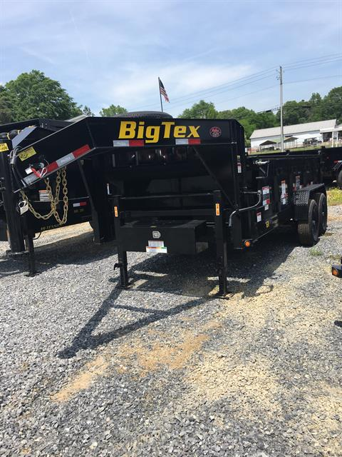 2019 Big Tex Trailers 14GX-14BK7SIRPD 83X14 DUMP TRAILER in Rome, Georgia