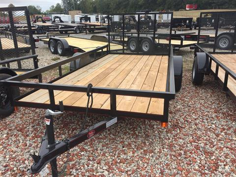 2019 P & T Trailer Sales, Inc. 6X14 TRAILER W/GATE in Rome, Georgia