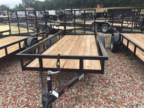 2019 P & T Trailer Sales, Inc. 5X14 TRAILER W/GATE in Rome, Georgia