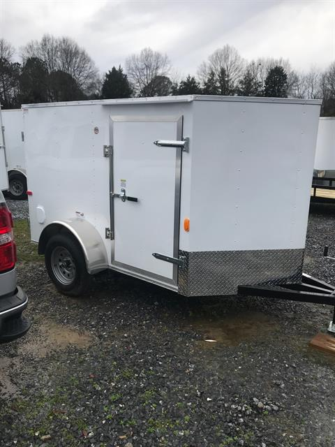 2019 Cargo Craft Ranger 5X10 Enclosed Trailer in Rome, Georgia