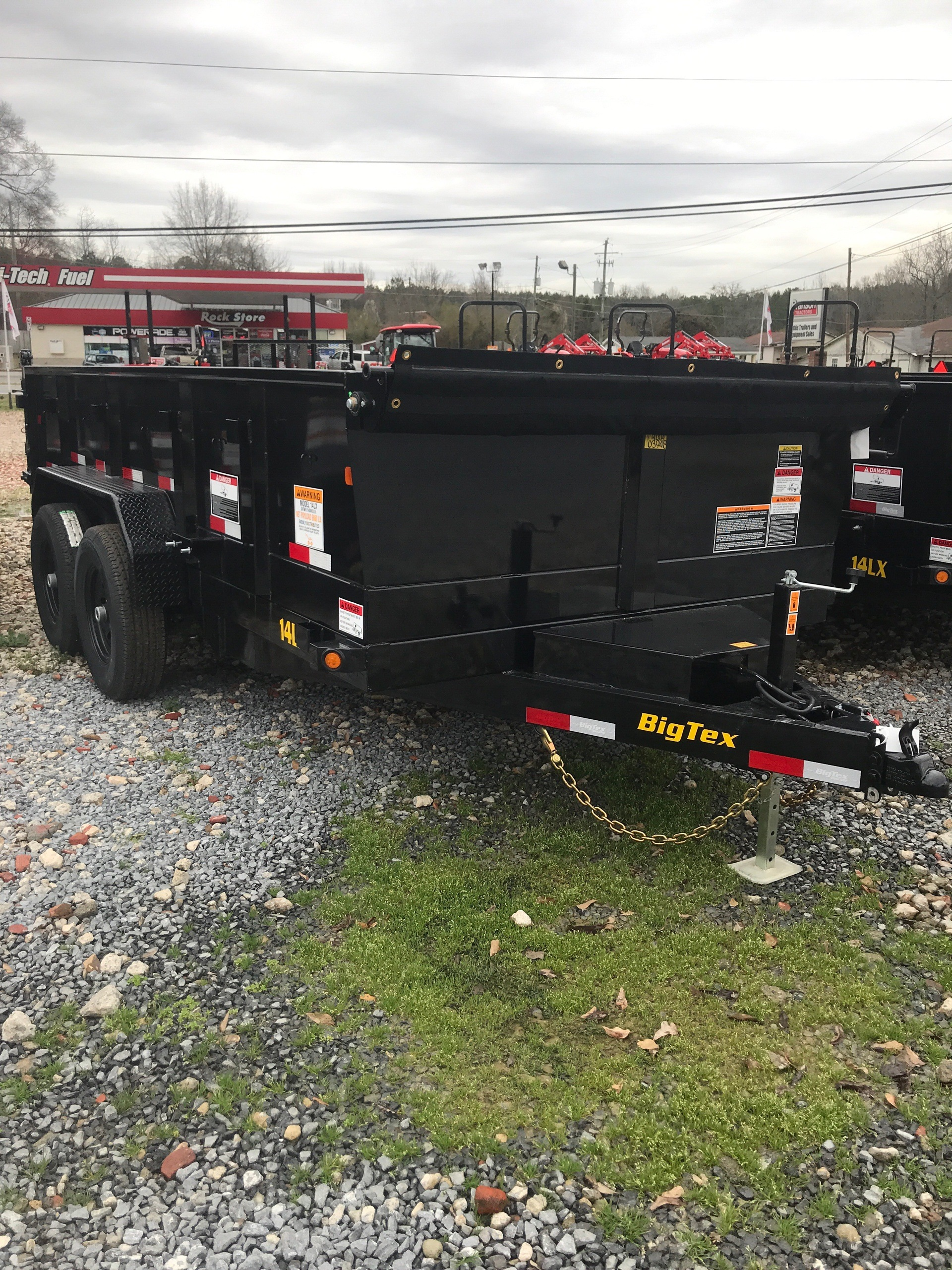 2019 Big Tex Trailers 14LX-14BK7SIRPD 83X14 DUMP  in Rome, Georgia