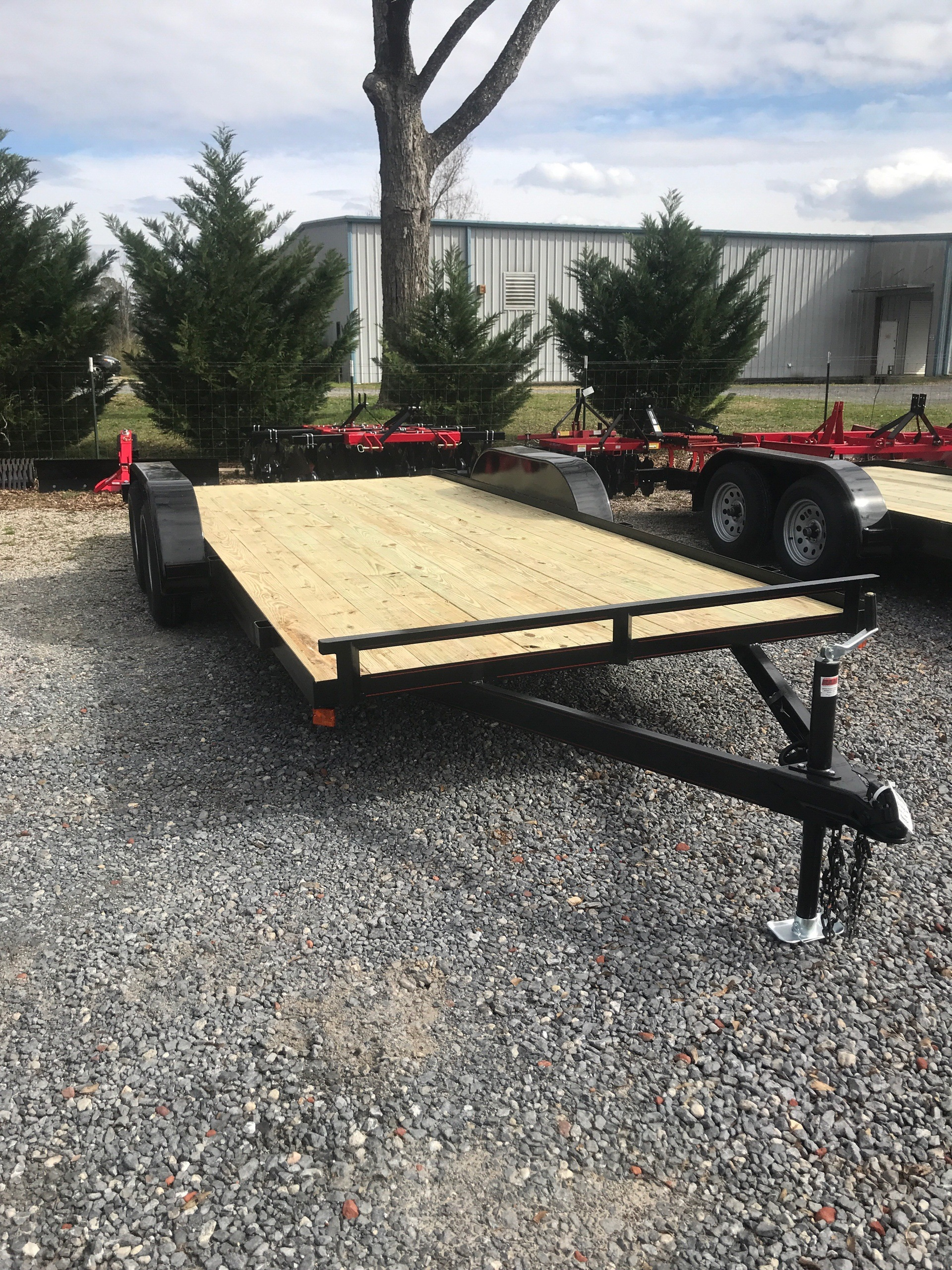 2019 P & T Trailer Sales, Inc. 82X18WCH(E) in Rome, Georgia
