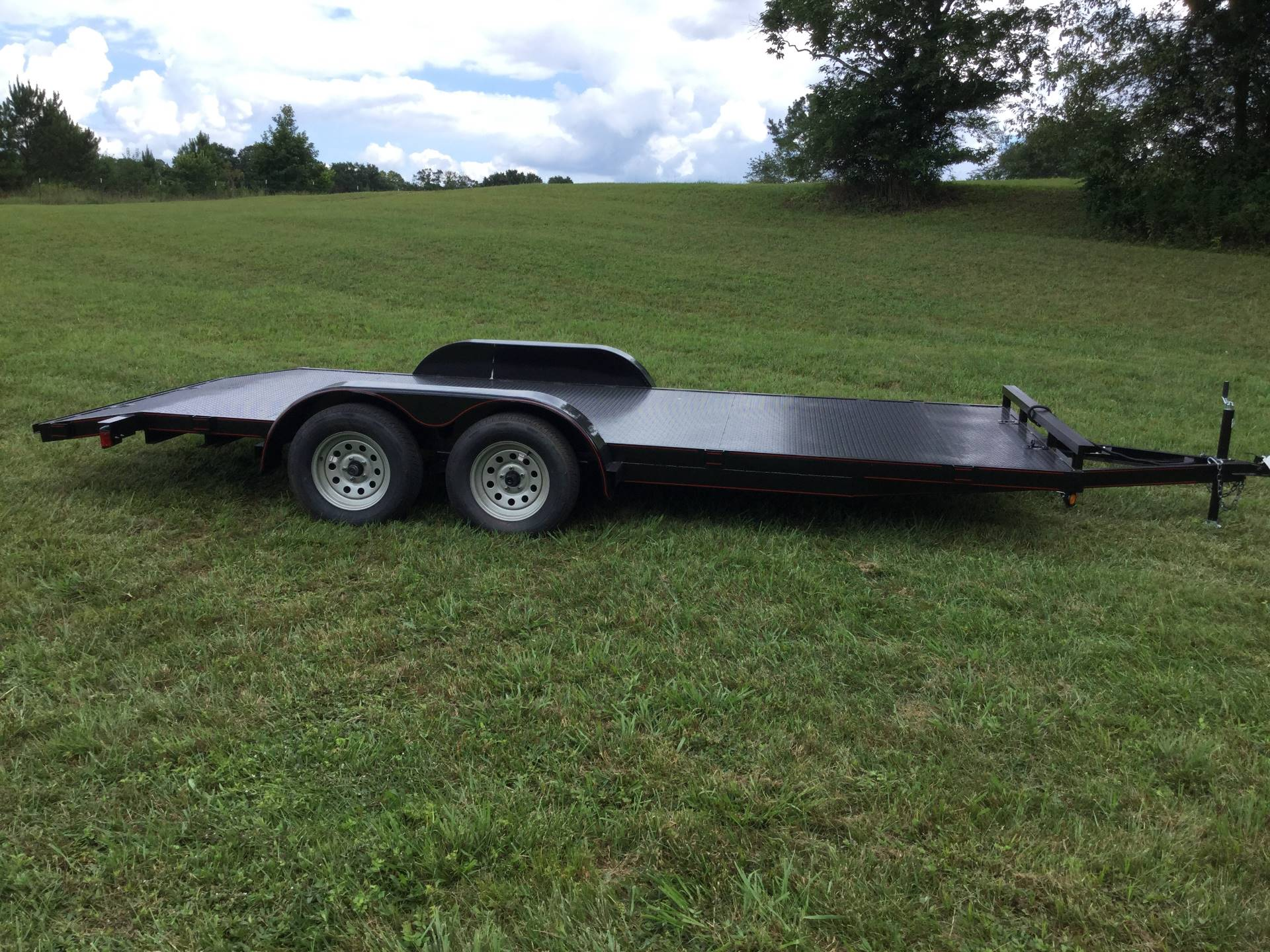 2018 P & T Trailer Sales, Inc. TRAILER 82X18 CARHAULER D-RINGS in Rome, Georgia