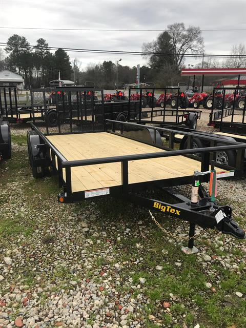 2019 Big Tex Trailers 70PI-18XBK4RG-GA 83X18 W/GATE  in Rome, Georgia