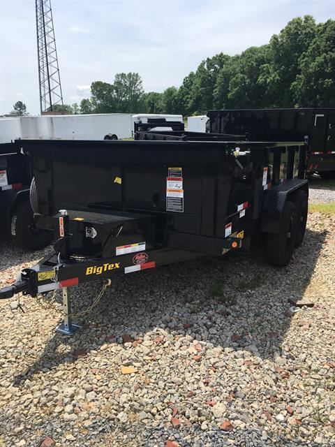 2019 Big Tex Trailers 10SR-12XLBK7SIR 83X12 DUMP TRAILER in Rome, Georgia
