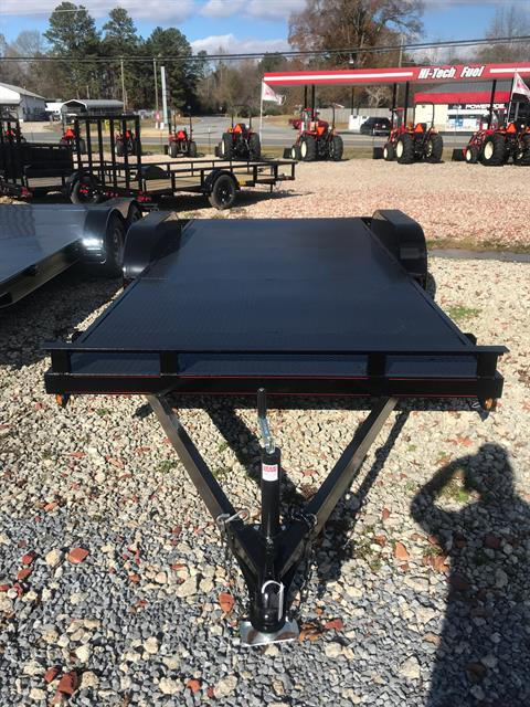 2019 P & T Trailer Sales, Inc. 82X18SSCH STEEL in Rome, Georgia