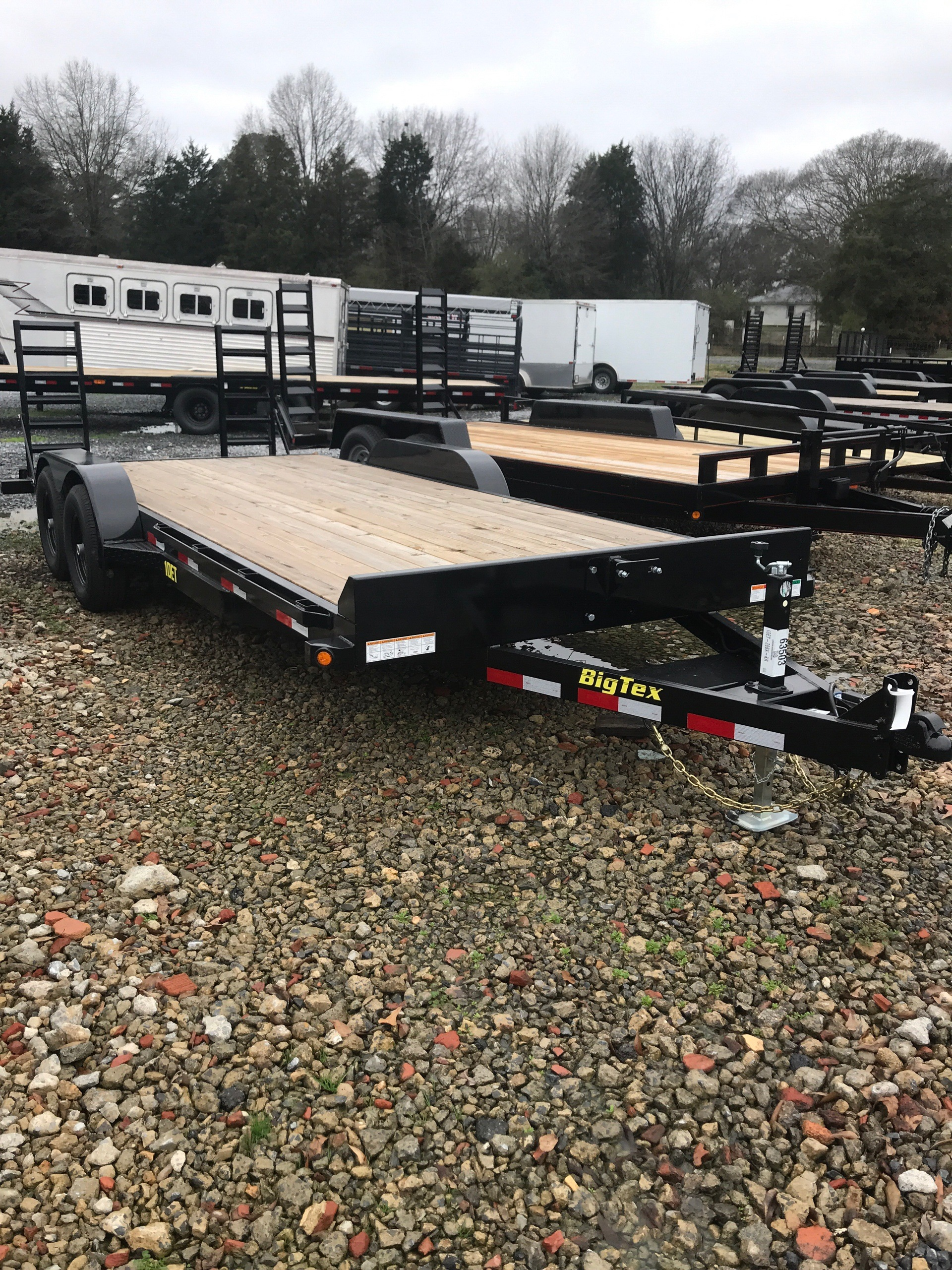 2019 Big Tex Trailers 10ET-20BK-KR 83X20 KNEE RAMPS  in Rome, Georgia